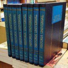 Enciclopedias: HISTORIA UNIVERSAL. 8 TOMOS. A-ENC-450-SF. Lote 191811110