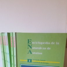 Enciclopedias: ENCICLOPEDIA DE LA NATURALEZA DE ASTURIAS. Lote 192145218