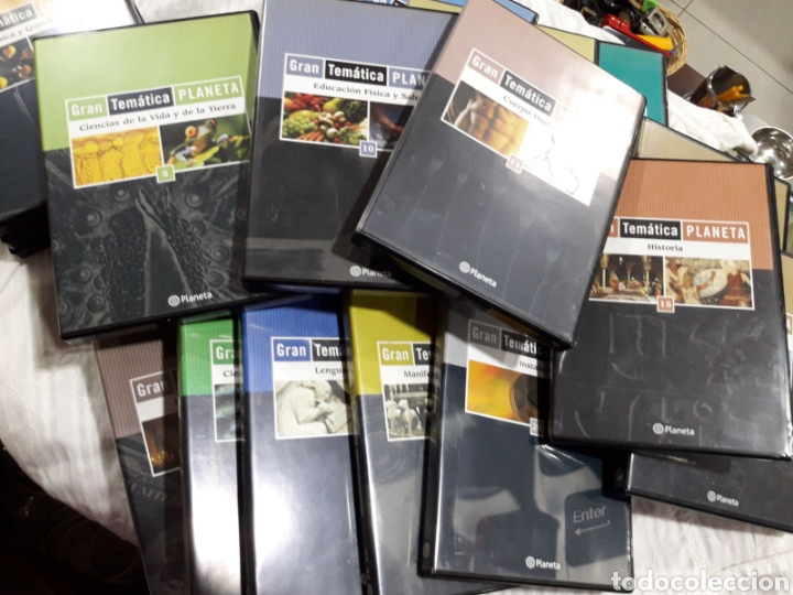 Enciclopedias: Enciclopedia gran temática planeta - Foto 4 - 193970462