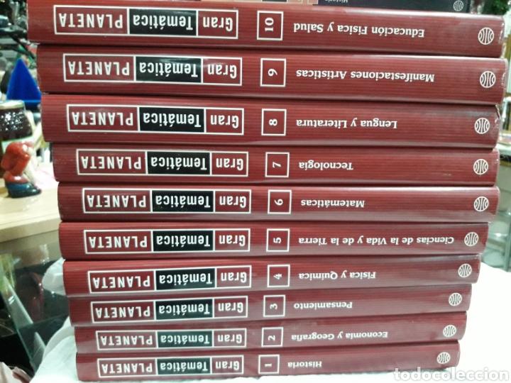 ENCICLOPEDIA GRAN TEMÁTICA PLANETA (Libros Nuevos - Diccionarios y Enciclopedias - Enciclopedias)