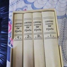 Enciclopedias: CORREO GENERAL DE ESPAÑA EDICIÓN FACSIMIL. Lote 195461876