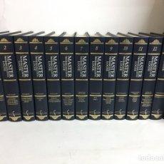 Livros: ENCICLOPEDIA MASTER LOGSE - 14 TOMOS. Lote 195593973