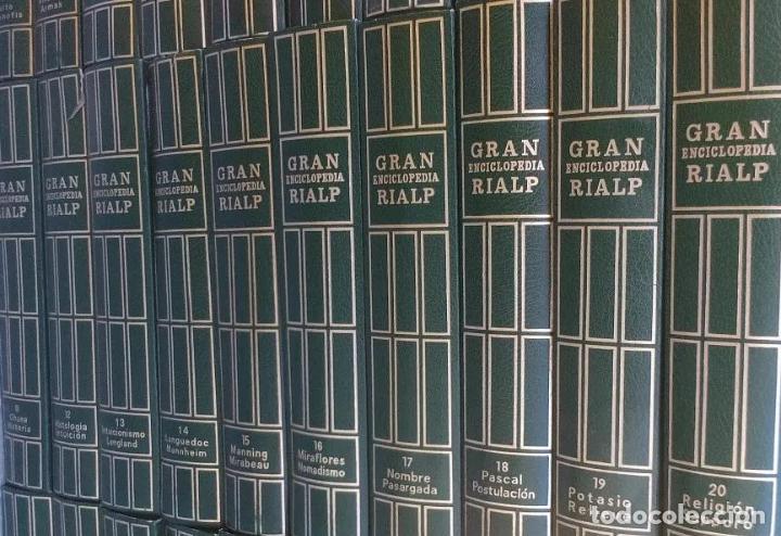 Enciclopedias: GRAN ENCICLOPEDIA RIALP - 24 Tomos. Completa. GER Está para recoger en Murcia - Foto 2 - 196213591