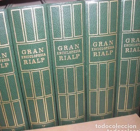 Enciclopedias: GRAN ENCICLOPEDIA RIALP - 24 Tomos. Completa. GER Está para recoger en Murcia - Foto 3 - 196213591