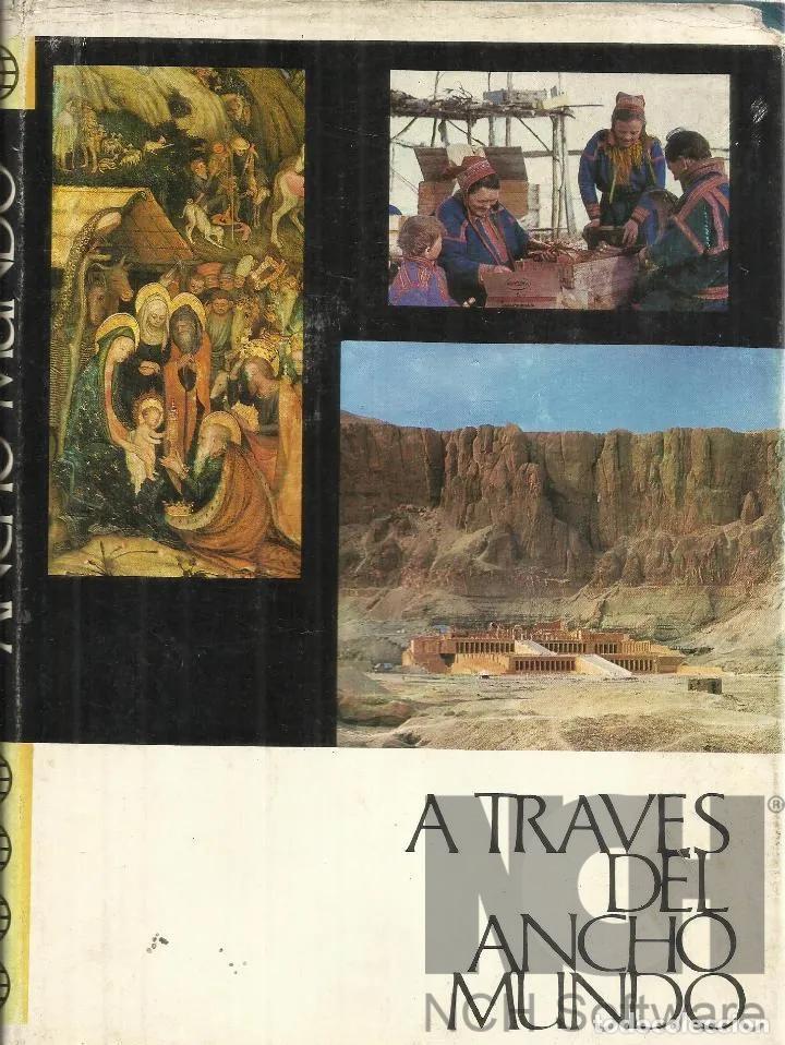 Enciclopedias: A TRAVES DEL ANCHO MUNDO. 12 Tomos. Editorial Marín. 1967. Tapa Dura 10 + 2 de los años 1967 a 1969 - Foto 4 - 196218207