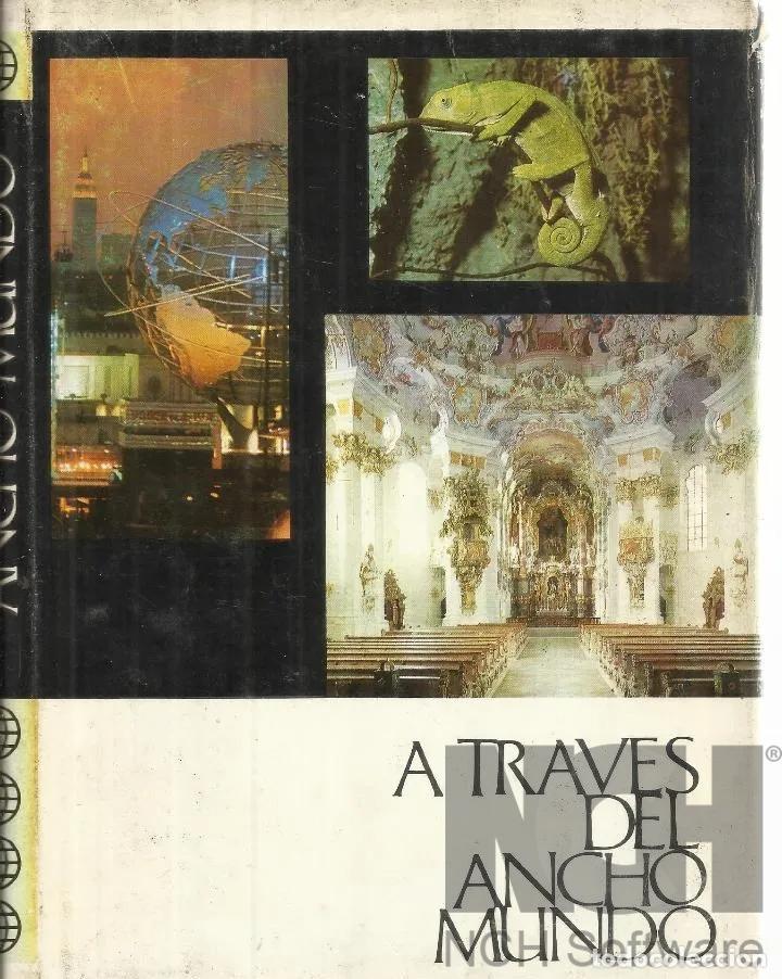 Enciclopedias: A TRAVES DEL ANCHO MUNDO. 12 Tomos. Editorial Marín. 1967. Tapa Dura 10 + 2 de los años 1967 a 1969 - Foto 5 - 196218207