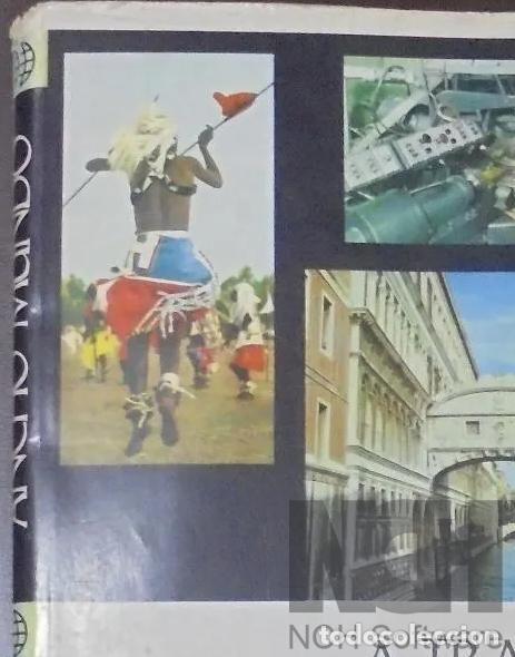 Enciclopedias: A TRAVES DEL ANCHO MUNDO. 12 Tomos. Editorial Marín. 1967. Tapa Dura 10 + 2 de los años 1967 a 1969 - Foto 9 - 196218207
