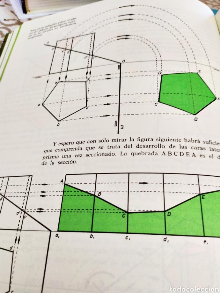 Enciclopedias: Proyectar es facil dibujo tecnico 4 tomos. Una obra maestra para aprender dibujo. - Foto 2 - 196574206