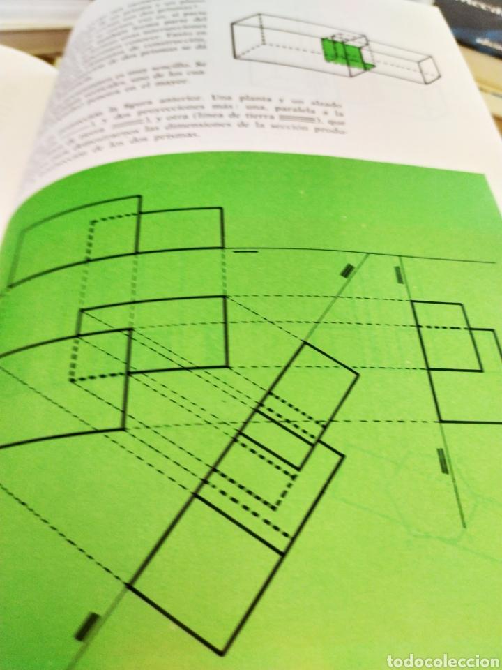 Enciclopedias: Proyectar es facil dibujo tecnico 4 tomos. Una obra maestra para aprender dibujo. - Foto 3 - 196574206