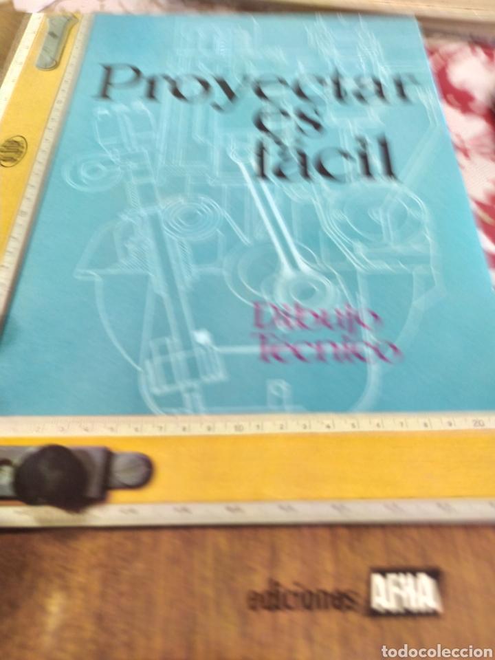 Enciclopedias: Proyectar es facil dibujo tecnico 4 tomos. Una obra maestra para aprender dibujo. - Foto 6 - 196574206