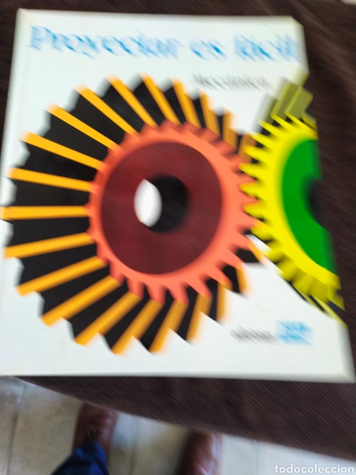 Enciclopedias: Proyectar es facil mecanica ,muy bueno.ediciones afha. - Foto 3 - 196575773