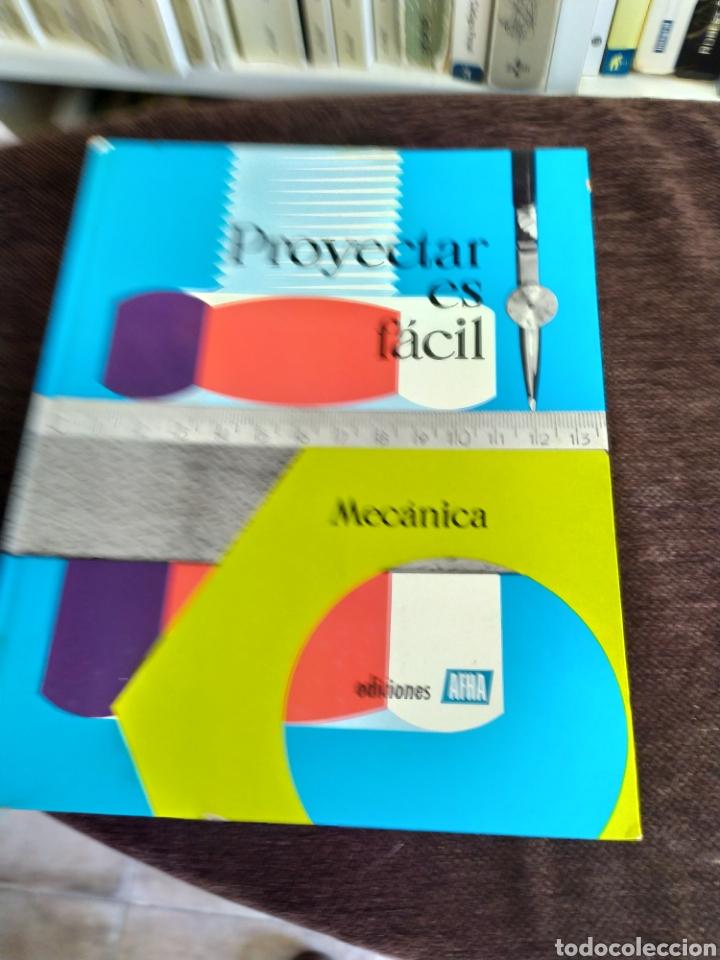 Enciclopedias: Proyectar es facil mecanica ,muy bueno.ediciones afha. - Foto 4 - 196575773