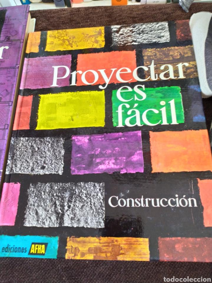 Enciclopedias: Proyectar es facil construccion ediciones afha. - Foto 2 - 196576647
