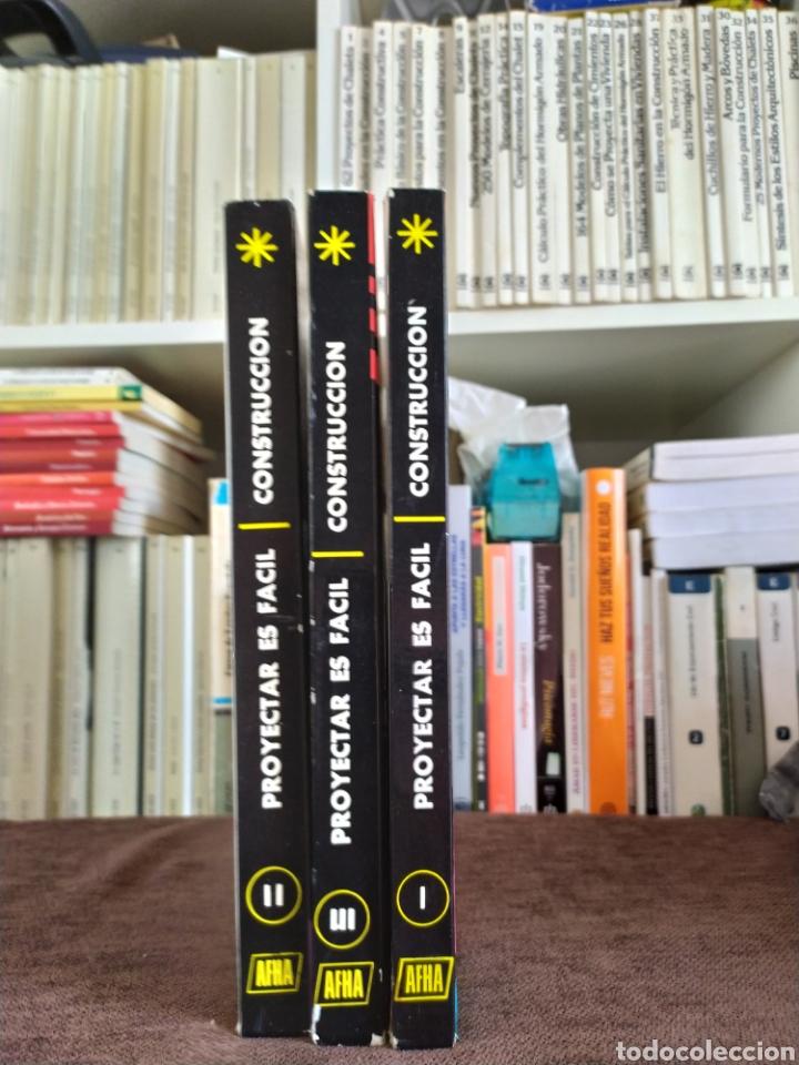 PROYECTAR ES FACIL CONSTRUCCION EDICIONES AFHA. (Libros Nuevos - Diccionarios y Enciclopedias - Enciclopedias)