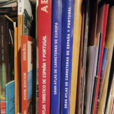 Enciclopedias: BLANCO Y NEGRO ATLAS TURISMO PLANOS ETC 3 LIBROS. Lote 197823823