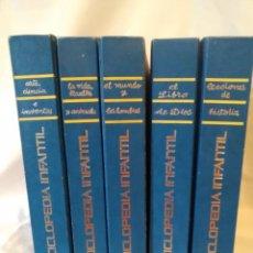 Enciclopedias: ENCICLOPEDIA INFANTIL 5 TOMOS (ENVIO PENINS MENS GRATIS). Lote 198144748