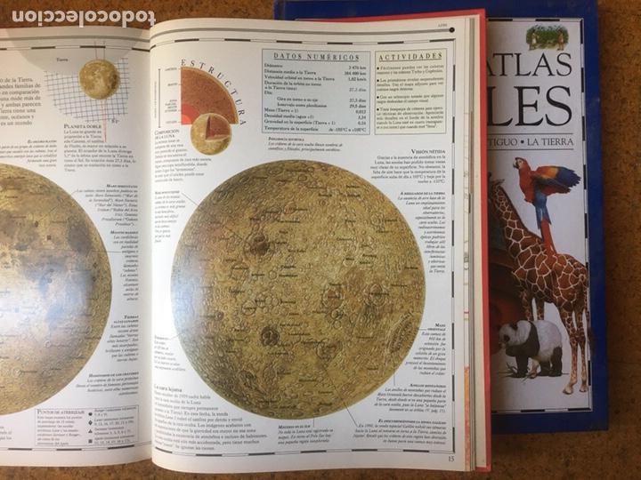 Enciclopedias: Los grandes atlas visuales. 2 tomos. El Periodico - Foto 4 - 199183202