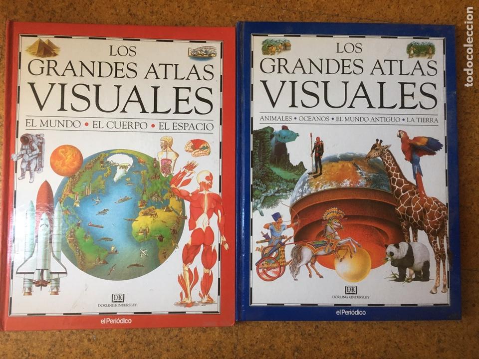 LOS GRANDES ATLAS VISUALES. 2 TOMOS. EL PERIODICO (Libros Nuevos - Diccionarios y Enciclopedias - Enciclopedias)