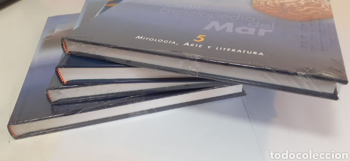 Enciclopedias: GRAN ENCICLOPEDIA DEL MAR VOLUMENES 5-6-7 Y 8 - Foto 2 - 202809310