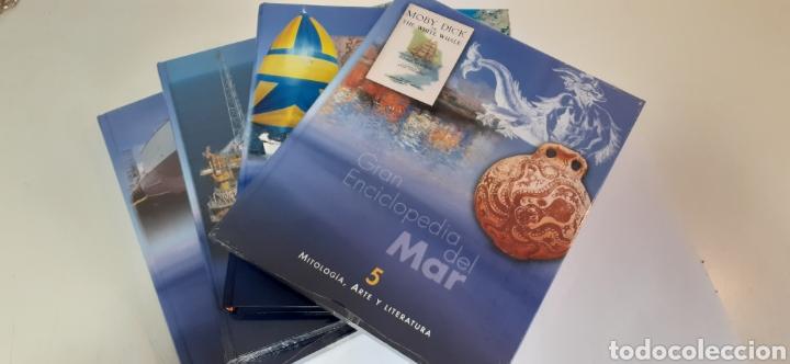 GRAN ENCICLOPEDIA DEL MAR VOLUMENES 5-6-7 Y 8 (Libros Nuevos - Diccionarios y Enciclopedias - Enciclopedias)
