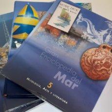 Enciclopedias: GRAN ENCICLOPEDIA DEL MAR VOLUMENES 5-6-7 Y 8. Lote 202809310
