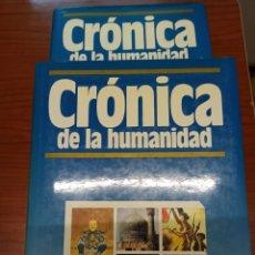 Enciclopedias: ENCICLOPEDIA. CRÓNICA. 8 TOMOS. PLAZA&JANES. Lote 203023207