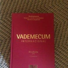 Enciclopedias: VADEMÉCUM INTERNACIONAL. 2009- 50 EDICIÓN. EL. Lote 203050246