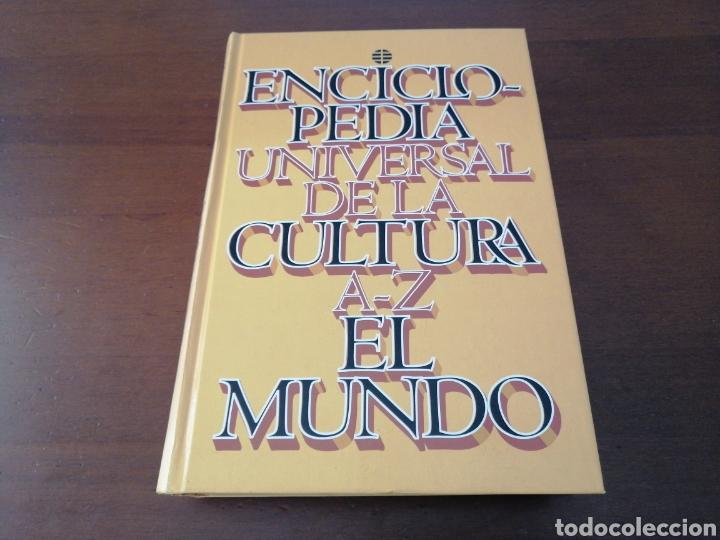 ENCICLOPEDIA UNIVERSAL DE LA CULTURA A-Z EL MUNDO 1 EDICIÓN 1996 (Libros Nuevos - Diccionarios y Enciclopedias - Enciclopedias)