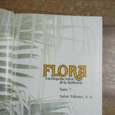 Enciclopedias: MFF.- FLORA. ENCICLOPEDIA SALVAT DE LA JARDINERIA.- TOMO 7.- SALVAT EDITORES. 1977.- CON SUMARIO. Lote 204402726