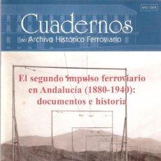 Enciclopedias: EL SEGUNDO IMPULSO FERROVIARIO EN ANDALUCIA / 1880 - 1940 - FUNDACION DE LOS FERROCARRILES ESPAÑOLE. Lote 204536902