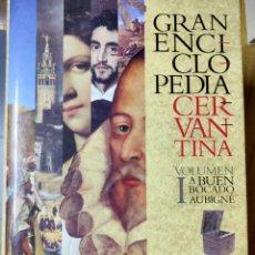 Enciclopedias: GRAN ENCICLOPEDIA CERVANTINA (VOLUMEN I). Lote 204669575