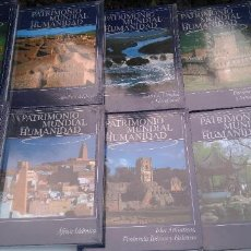 Enciclopedias: PATRIMONIO MUNDIAL DE LA HUMANIDAD - EDICIONES RUEDA - 9 LIBROS, SIN DESPRECINTAR, A ESTRENAR. Lote 204982306