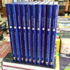 Enciclopedias: PATRIMONIO MUNDIAL DE LA HUMANIDAD. DIEZ TOMOS. A-ENC-454-SF. Lote 204993828
