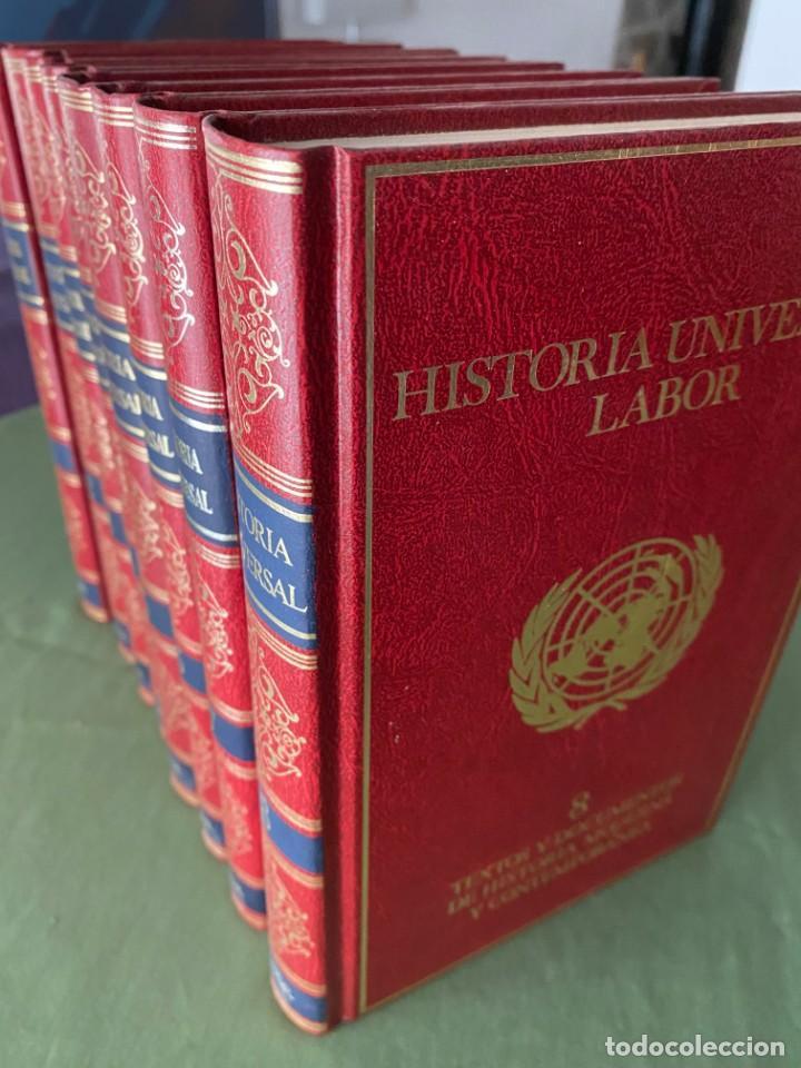 HISTORIA UNIVERSAL LABOR 8 TOMOS 1991 - PERFECTO ESTADO! - BUENA LECTURA Y MAGNIFICA DECORACIÓN! (Libros Nuevos - Diccionarios y Enciclopedias - Enciclopedias)
