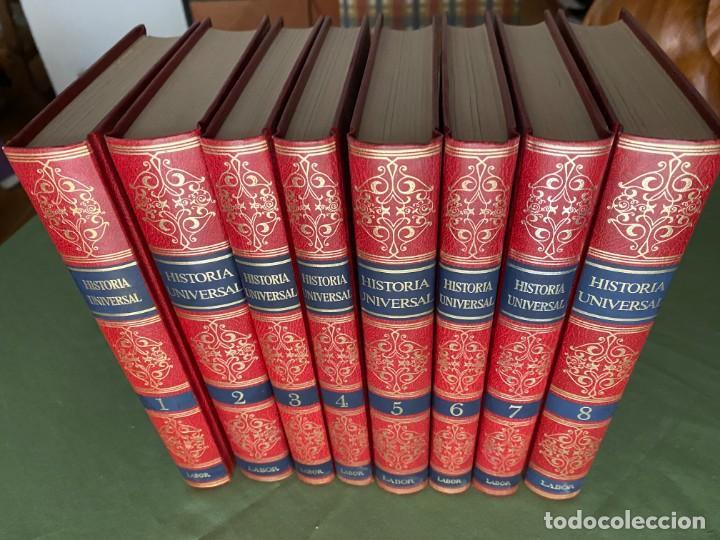 Enciclopedias: HISTORIA UNIVERSAL LABOR 8 TOMOS 1991 - PERFECTO ESTADO! - BUENA LECTURA Y MAGNIFICA DECORACIÓN! - Foto 2 - 207701453