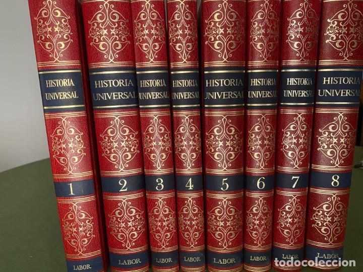 Enciclopedias: HISTORIA UNIVERSAL LABOR 8 TOMOS 1991 - PERFECTO ESTADO! - BUENA LECTURA Y MAGNIFICA DECORACIÓN! - Foto 3 - 207701453