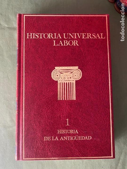Enciclopedias: HISTORIA UNIVERSAL LABOR 8 TOMOS 1991 - PERFECTO ESTADO! - BUENA LECTURA Y MAGNIFICA DECORACIÓN! - Foto 4 - 207701453