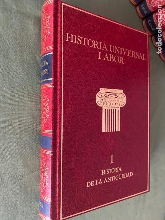 Enciclopedias: HISTORIA UNIVERSAL LABOR 8 TOMOS 1991 - PERFECTO ESTADO! - BUENA LECTURA Y MAGNIFICA DECORACIÓN! - Foto 5 - 207701453