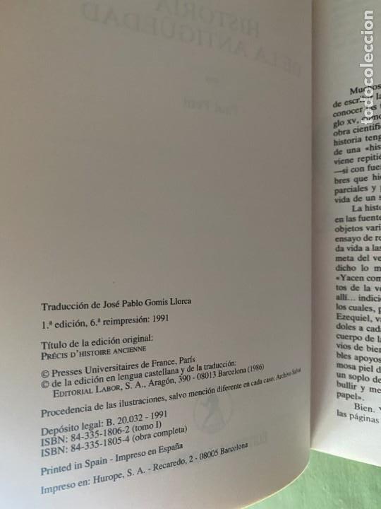 Enciclopedias: HISTORIA UNIVERSAL LABOR 8 TOMOS 1991 - PERFECTO ESTADO! - BUENA LECTURA Y MAGNIFICA DECORACIÓN! - Foto 8 - 207701453