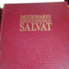 Enciclopedias: DICCIONARIO ENCICLOPEDICO SALVAT 13 TOMOS. Lote 207787196