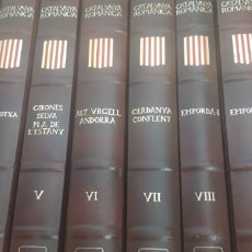 Enciclopedias: CATALUNYA ROMÁNICA. 28 VOLUMS. ENCICLOPEDIA CATALANA.. Lote 208961125