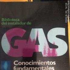 Enciclopedias: BIBLIOTECA DEL INSTALADOR DE GAS. Lote 210021935