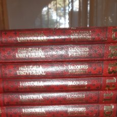 Enciclopedias: 15 TOMOS HISTORIA UNIVERSAL JACQUES PIRENNE. Lote 210487967