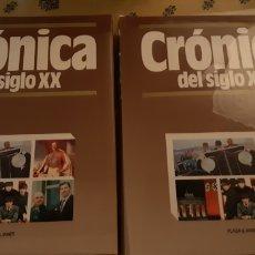 Enciclopedias: CRONICA DEL SXX 2 TOMOS. Lote 210491741