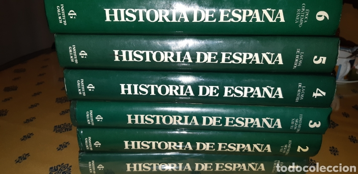 Enciclopedias: 6 tomos historia de España instituto gallach - Foto 2 - 210519573