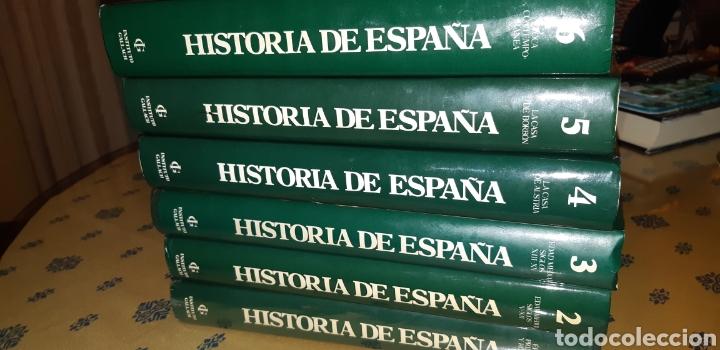 6 TOMOS HISTORIA DE ESPAÑA INSTITUTO GALLACH (Libros Nuevos - Diccionarios y Enciclopedias - Enciclopedias)
