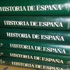 Enciclopedias: 6 TOMOS HISTORIA DE ESPAÑA INSTITUTO GALLACH. Lote 210519573