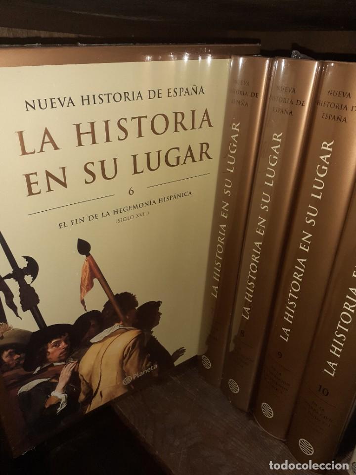 Enciclopedias: La historia en su lugar. Editorial Planeta 10 Tomos - Foto 2 - 210548498