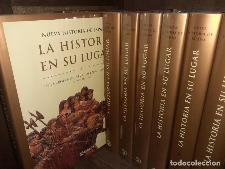 Enciclopedias: La historia en su lugar. Editorial Planeta 10 Tomos - Foto 3 - 210548498