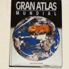 Enciclopedias: GRAN ATLAS MUNDIAL. CÍRCULO DE LECTORES. Lote 210978362